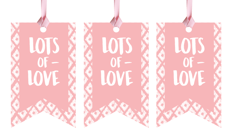 Lots of Love Gift Tags
