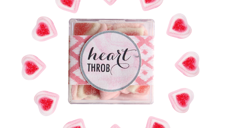Heart Throb Confection Cube