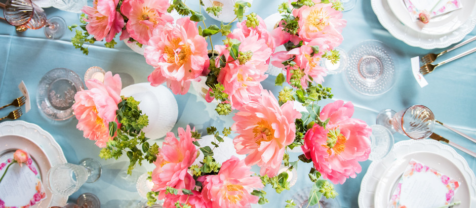 PEONIES PLEASE: PARTY STYLE
