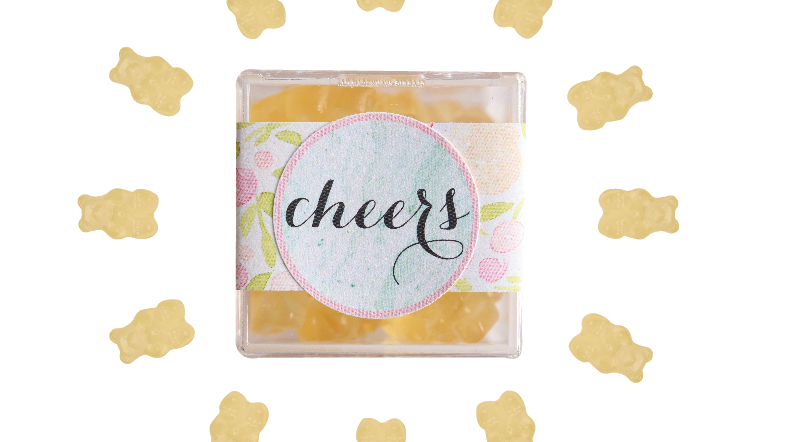 Cheers Confection Cube