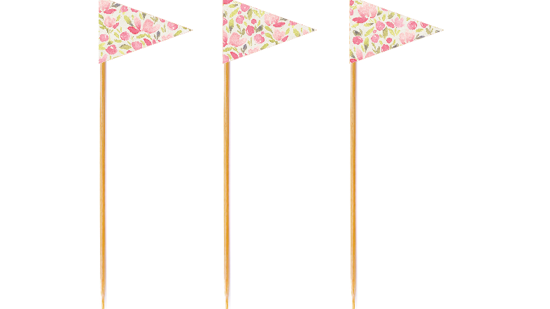 Rosette Tall Toppers