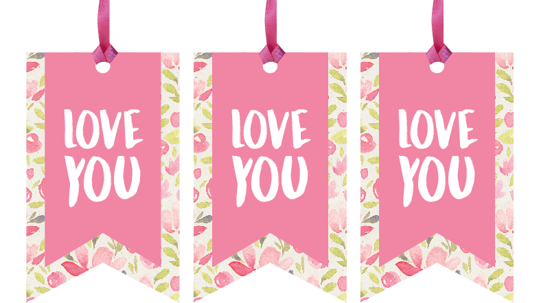 Love You Gift Tags