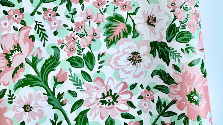 Peony Party Table Runner