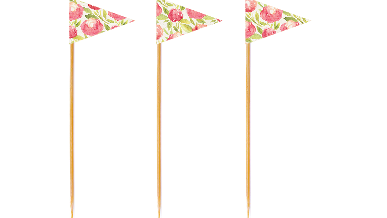 Peony Tall Toppers