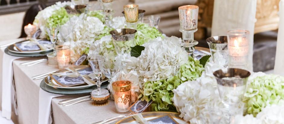 WEDDING STYLE: HYDRANGEA CHIC