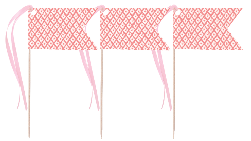 Coral Pennants