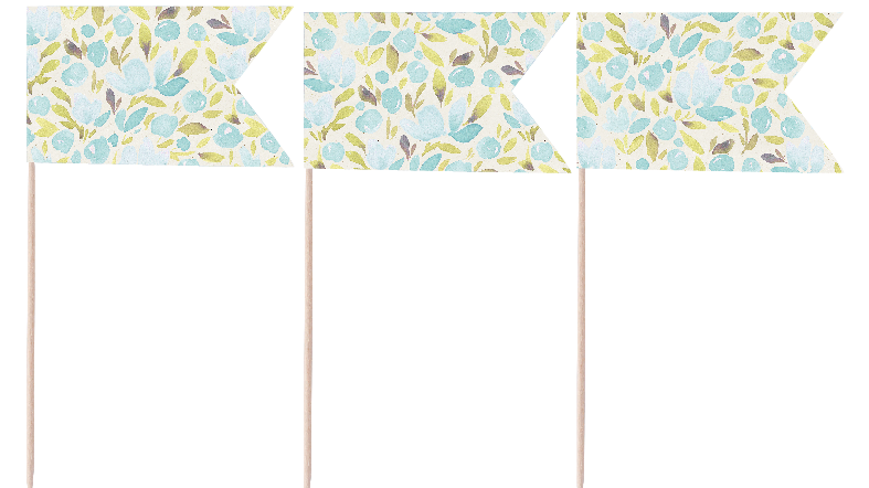 Blooms Pennants