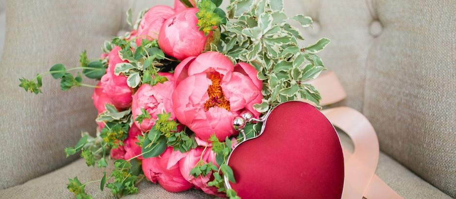 WEDDING FLOWERS: PRETTY IN PINK
