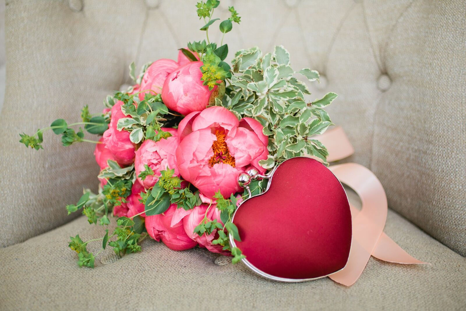 Wedding Flowers Pretty In Pink
