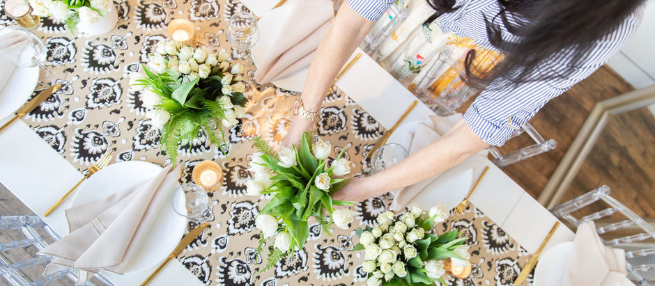 RING IN SPRING: PARTY STYLE