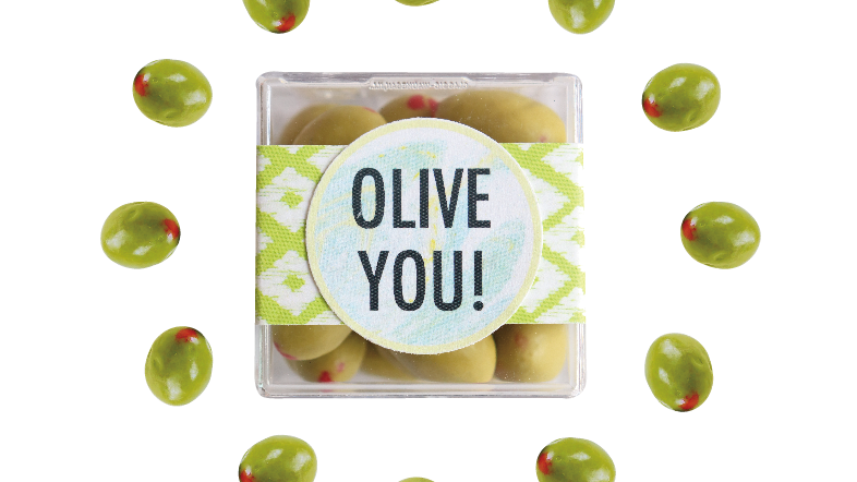 Olive You Confection Cube