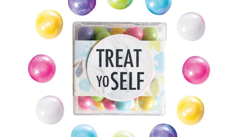 Treat YoSelf Confection Cube