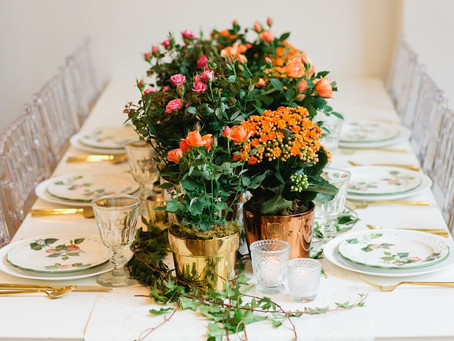 WEDDING BEAUTY: ORANGE HUES