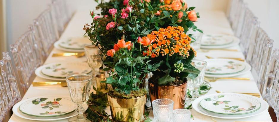 WEDDING BEAUTY: ORANGE HUES