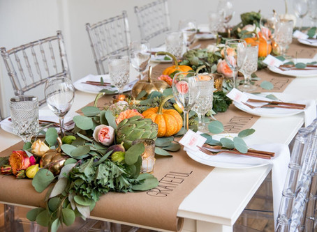 FRIENDSGIVING: DIY TABLE RUNNER
