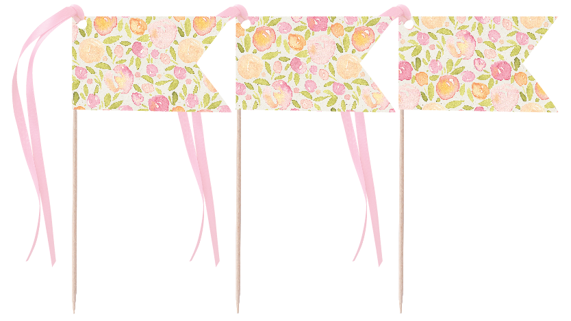 Peachy Pennants