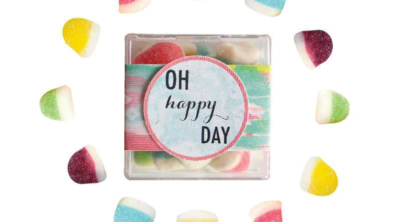 Oh Happy Day Confection Cube