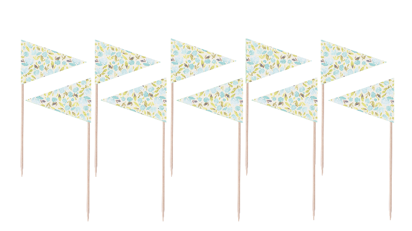 Blooms Flag Party Picks