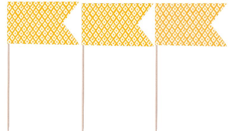 Tangerine Pennants