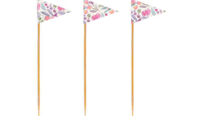 Wildflower Tall Toppers