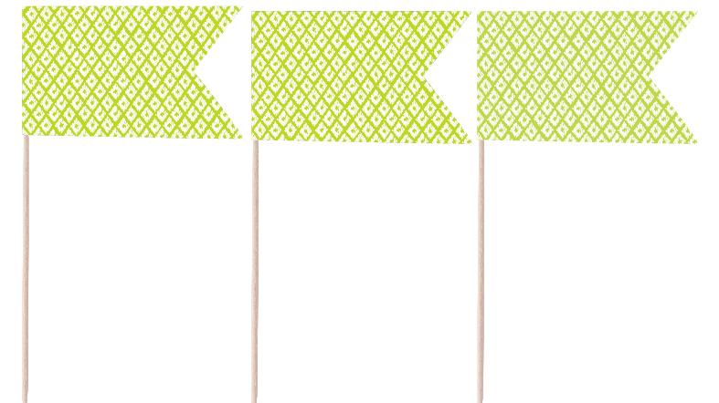 Lime Pennants