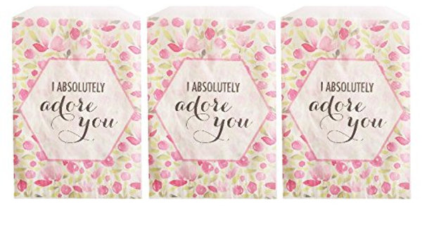 I Absolutely Adore You Treat Bags