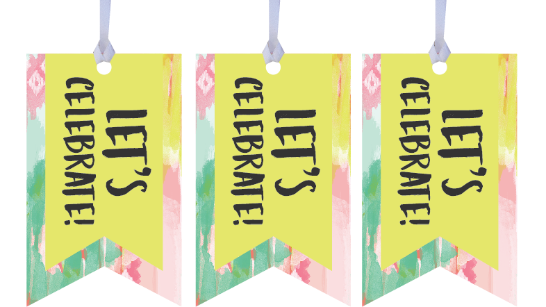 Let's Celebrate Gift Tags