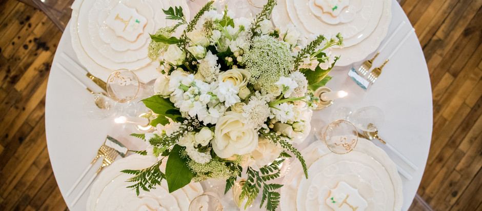 WEDDING TRENDS: BRIGHTS+GREENS
