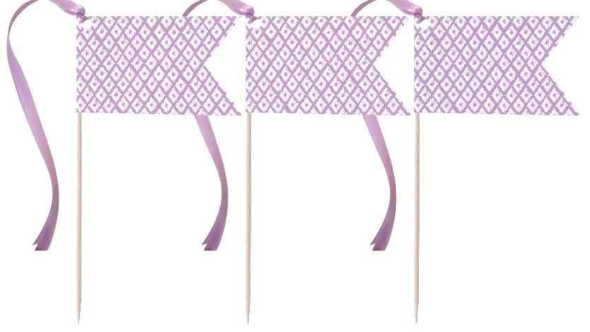 Lavender Pennants
