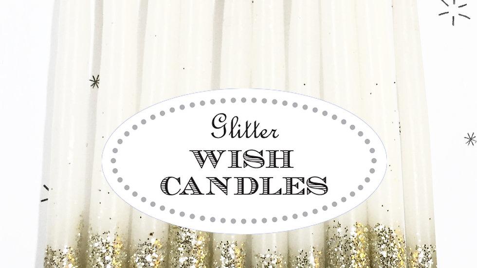Glitter Wish Candles