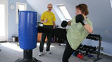 round kick, personal training