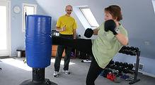 personal training, kickboxng