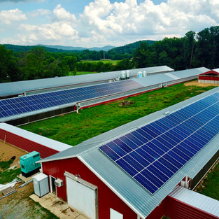 100 kW Solar System at Jones' Family Farm