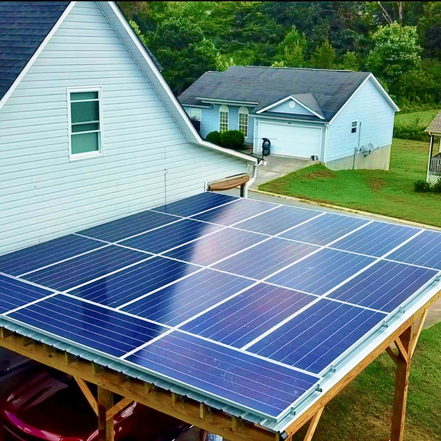 7 kW Solar Carport for Bobby Bryant