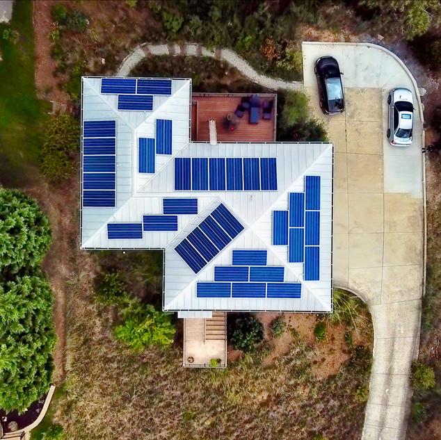 12 kW Solar System at Hamilton Home
