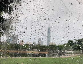 Rain in the morning
