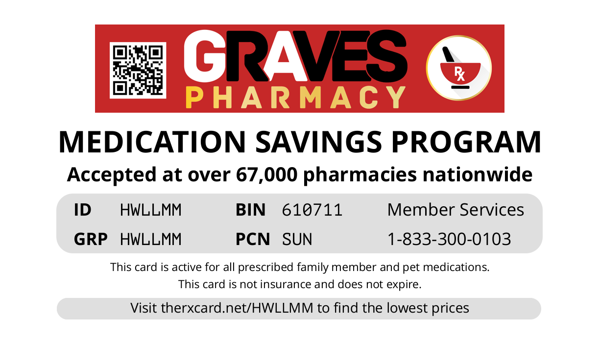 Graves Rx Card