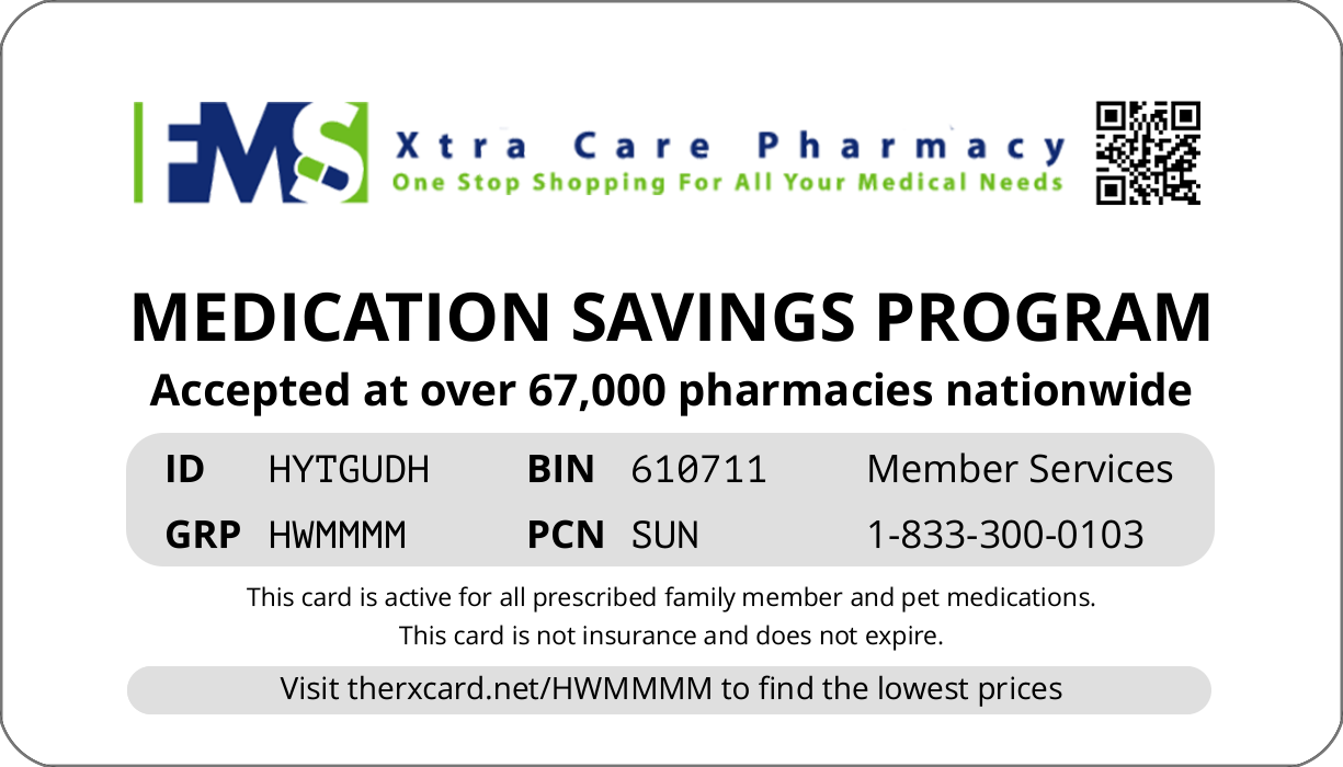 Xtra Care Pharm NY