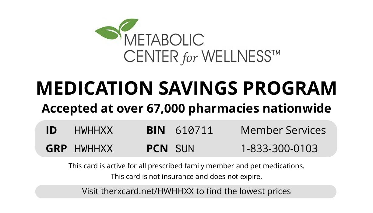 Metabolic Card