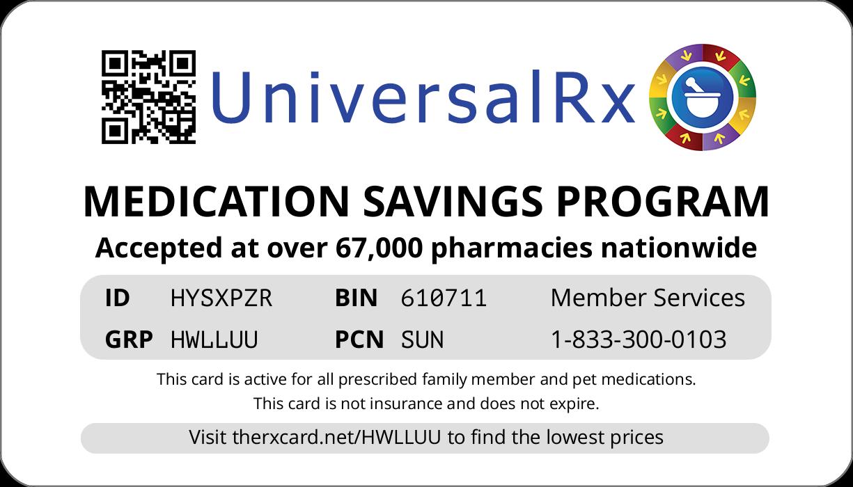 Town Pharmacy Card