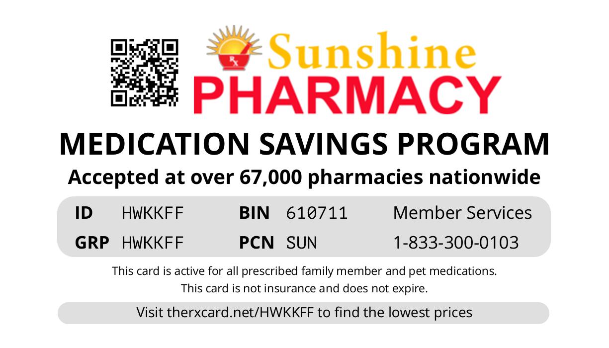 Sunshine Sanford Card