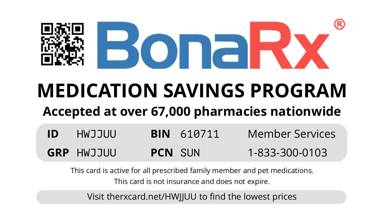 BonaRx Card