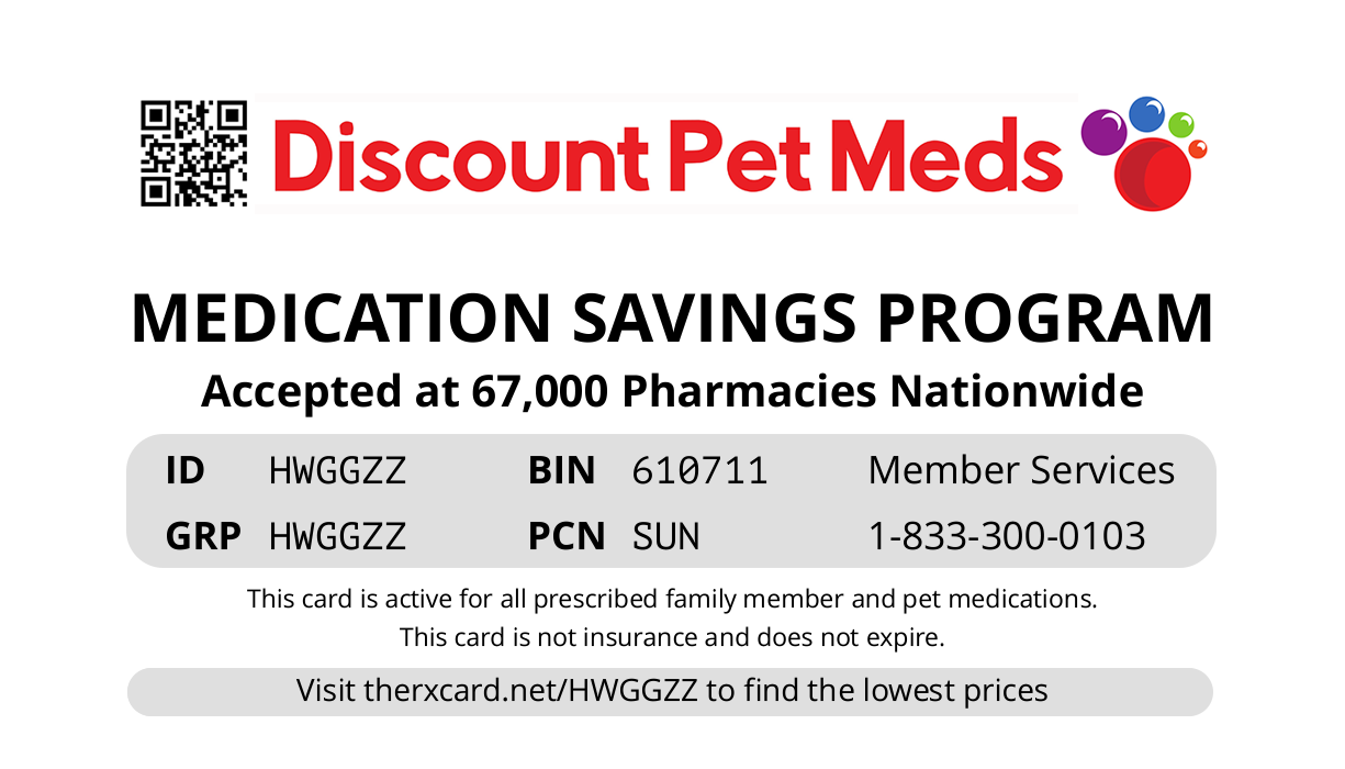 pet med card