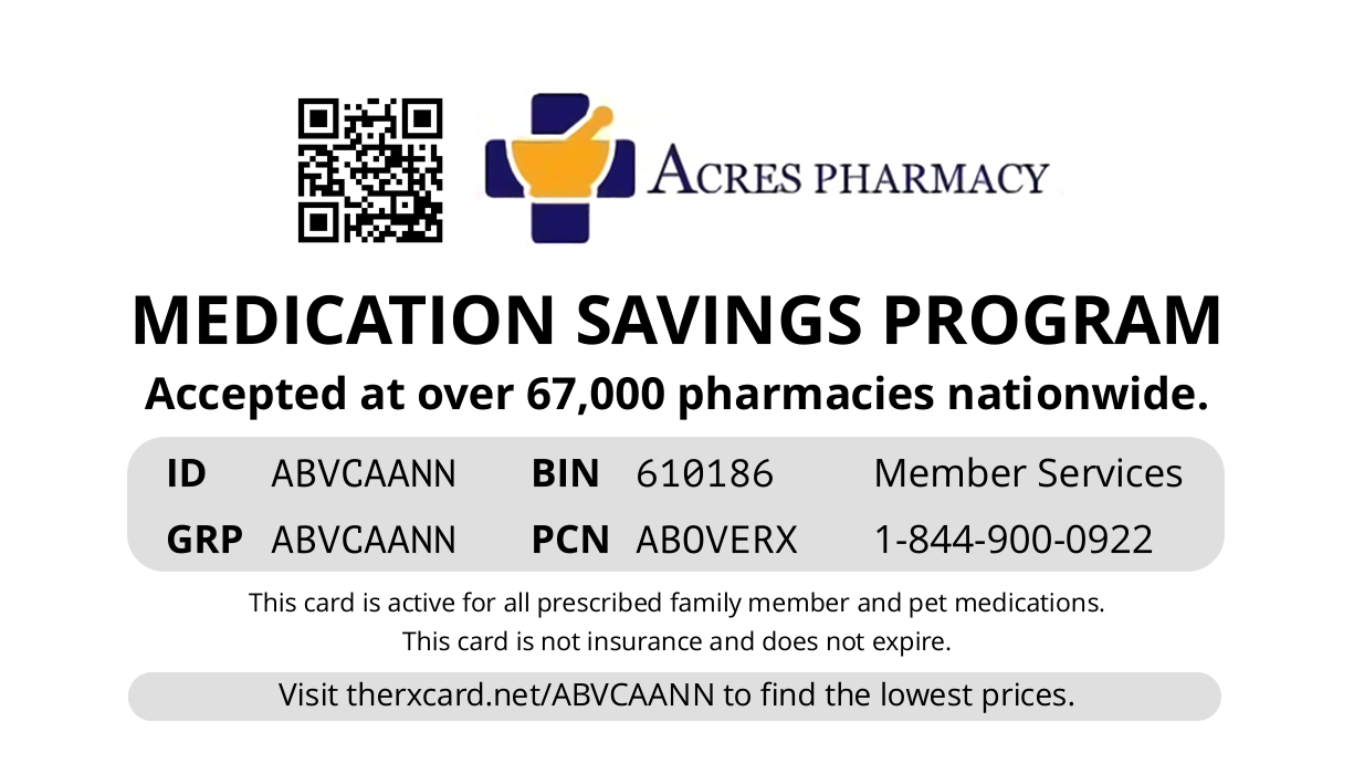 Acres Rx Card