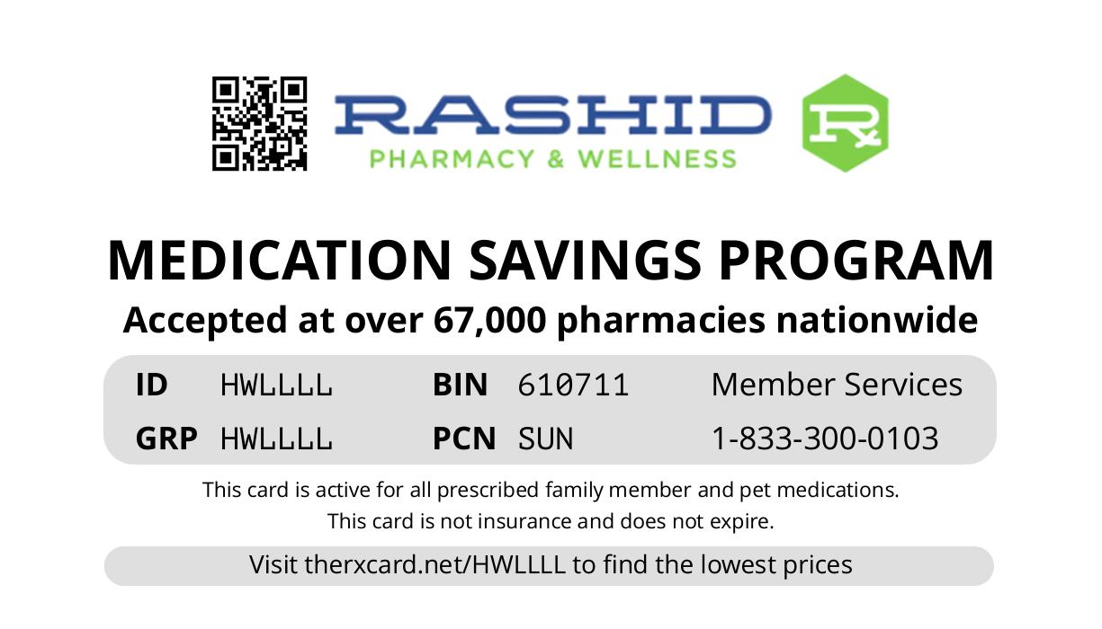 Rashid card