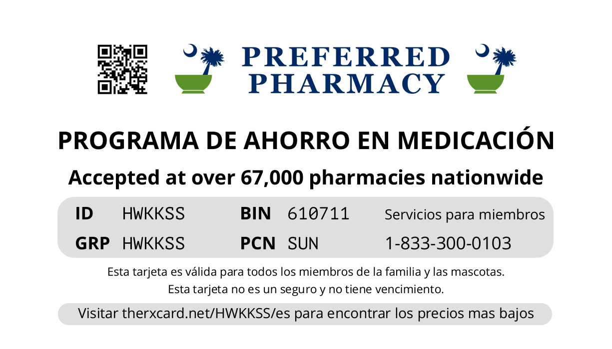 Preferred Pharmacy Card