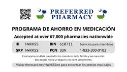 Preferred Pharmacy Card