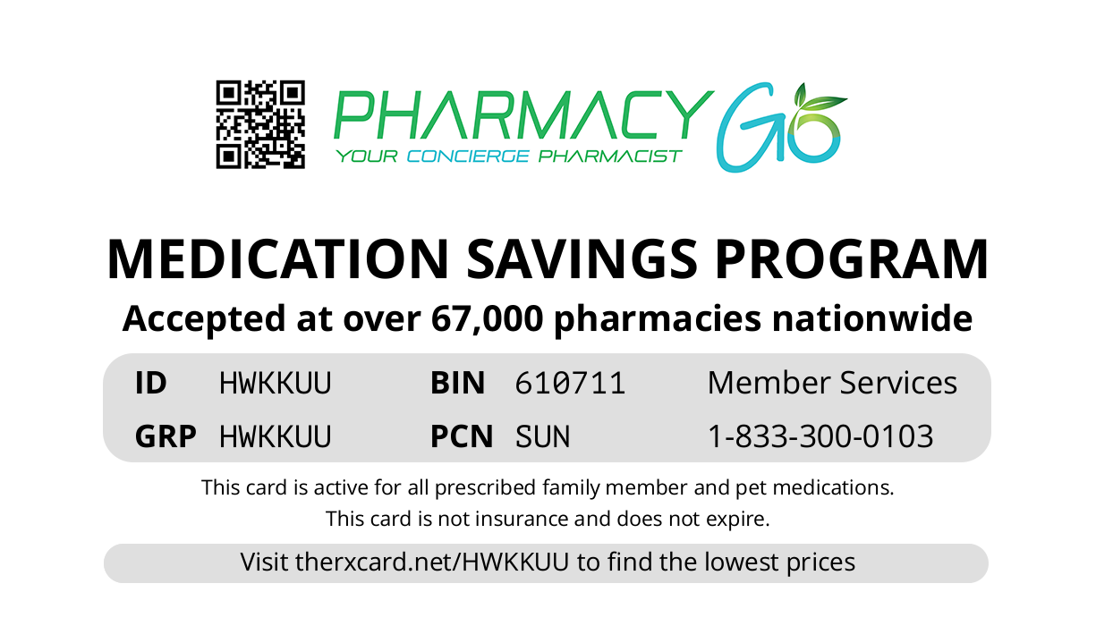 Pharmacy Go Card