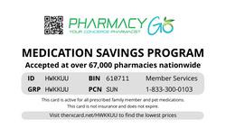 Pharmacy Go Card