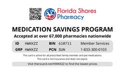 Florida Shore Card